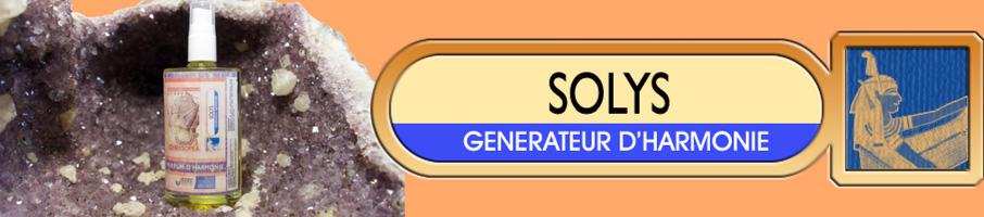 SOLYS : GÉNÉRATEUR D'HARMONIE